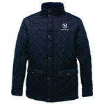 BENETTON RUGBY DIAMOND QUILT JACKET