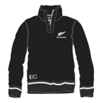 Felpa All Blacks bambino con mezza zip