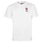 T-SHIRT UFFICIALE ENGLAND RUGBY - BIANCA